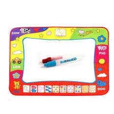 Water Drawing Toy Painting Writing Mat Board 2 Magic Pens Doodle Mat By Kingstones.