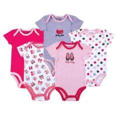Wholesale!! 5pcs Baby Girls Carter Romper (random Design) - 12 Months By 168 Concept Trading.