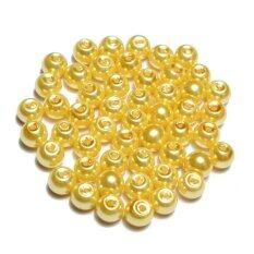 Wholesale Lots Glass Pearl Round Spacer Loose Beads 4mm/6mm/8mm By Freebang.