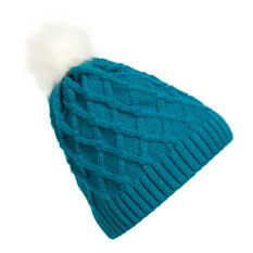 Musim Dingin Hangat Panas Topi Fesyen Kertas Dinding Cashmere Top Jual Topi Rajutan Biru