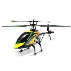 Wltoys V912 4CH RC Tanpa Sikat Helikopter dengan Gyro 360 3D Membalik BNF untuk Kado Mainan