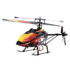 WLtoys V913 Brushless Version 2.4GHz 4CH Large Single Blades RC Helicopter RTF Red