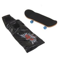 Wooden Fingerboard Skateboard Sport Games Kids Gift By Bolehdeals.