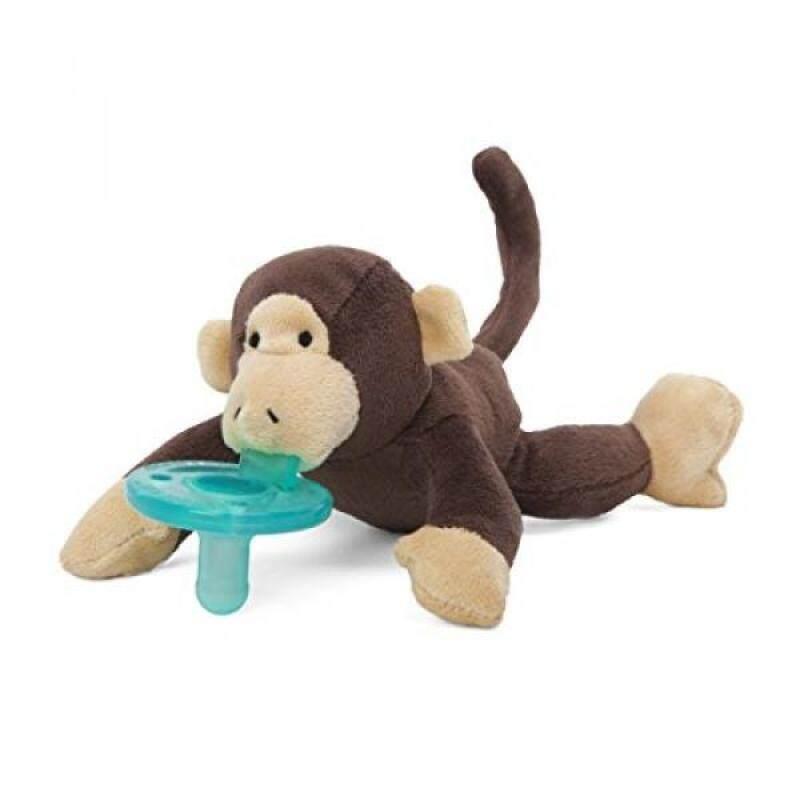 WubbaNub Brown Monkey Pacifier Singapore