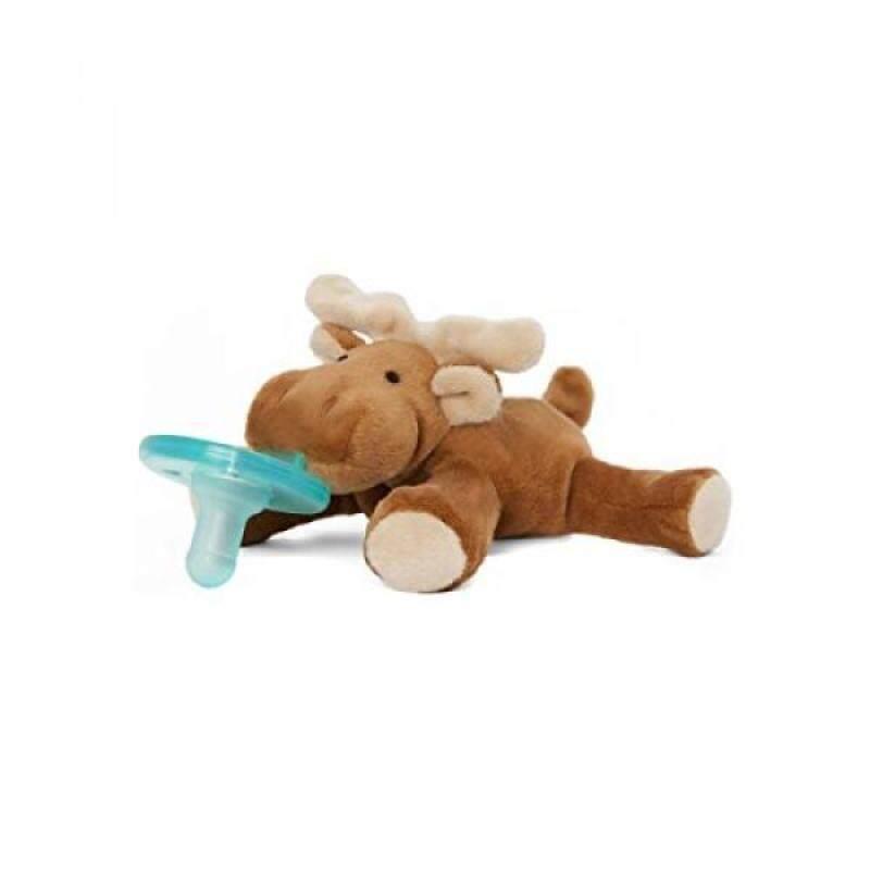 Wubbanub Infant Pacifier - Moose Singapore