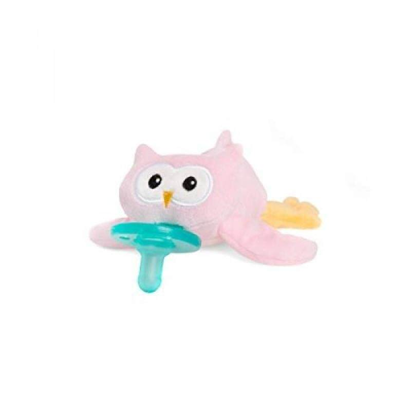 Wubbanub Infant Pacifier - Pink Owl Singapore