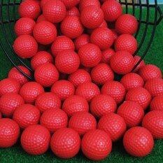 Yellow Soft Pu Foam Balls Golf Swing Training Practice Aids Golfer Accessory Red