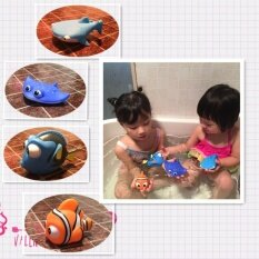 Hình ảnh (HOT SALE) Children baby bath bathroom bath bath beach water toys pond plastic animal water toys