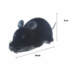 Hình ảnh (HOT SALE) Two - pass flocking remote control mouse remote control animal toys
