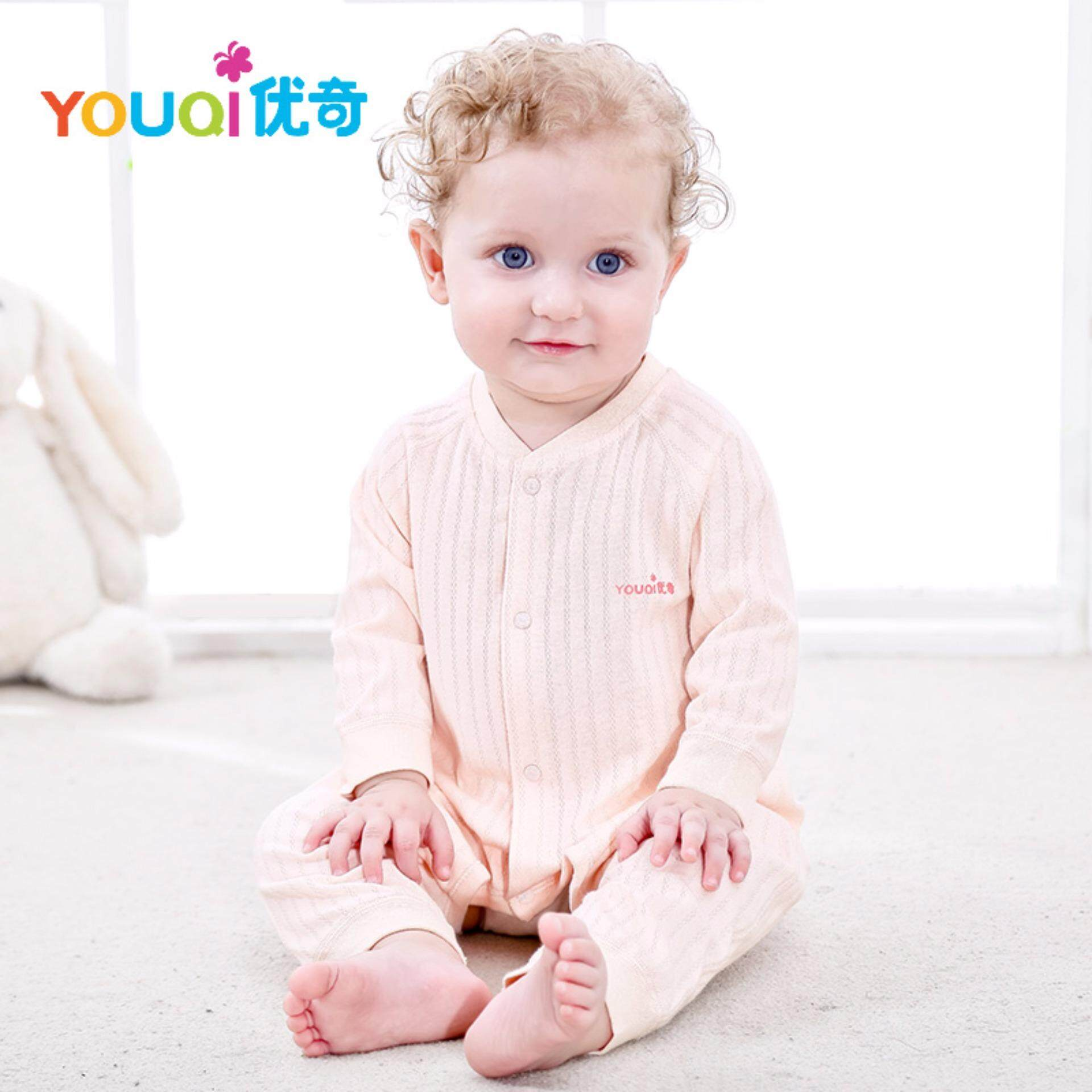 64e14888e413 YOUQI Baby Boys Clothes Girls Pyjamas Clothing 3 6 9 12 18 Months Rompers  For Baby