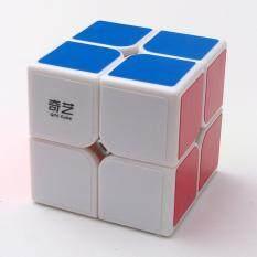 Veecome Magnetik 2X2X2 Rubik Permainan Asah Otak Twist Stiker Puzzle Saku Kubus Intelejen Mainan Balok Ketangkasan