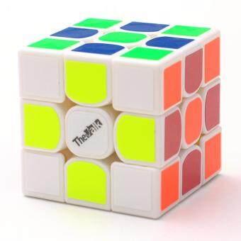 Harga preferensial Veecome Magnetik 3X3 Mini Kecepatan Rubik Perkembangan Intelektual Kubus Puzzle Kecepatan Relief Stres Mainan Warna: Putih untuk ...