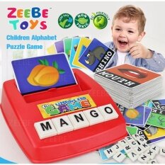 Zeebe Learning Planet Children English Spelling Fun Game Theme By Zbstore.