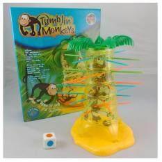 Zeppy Tumblin Monkey Game By Toys & Tots.