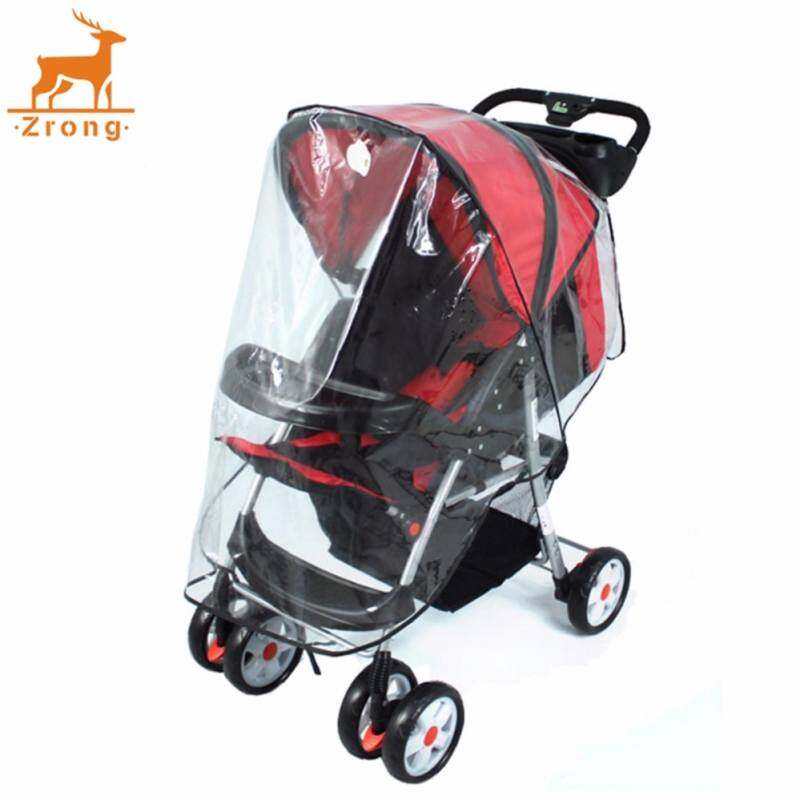 [JJY86FCDD] Fashion Universal Waterproof Plastic Cover For Baby To Child Wind Rain From Carriage Protect Stroller Singapore