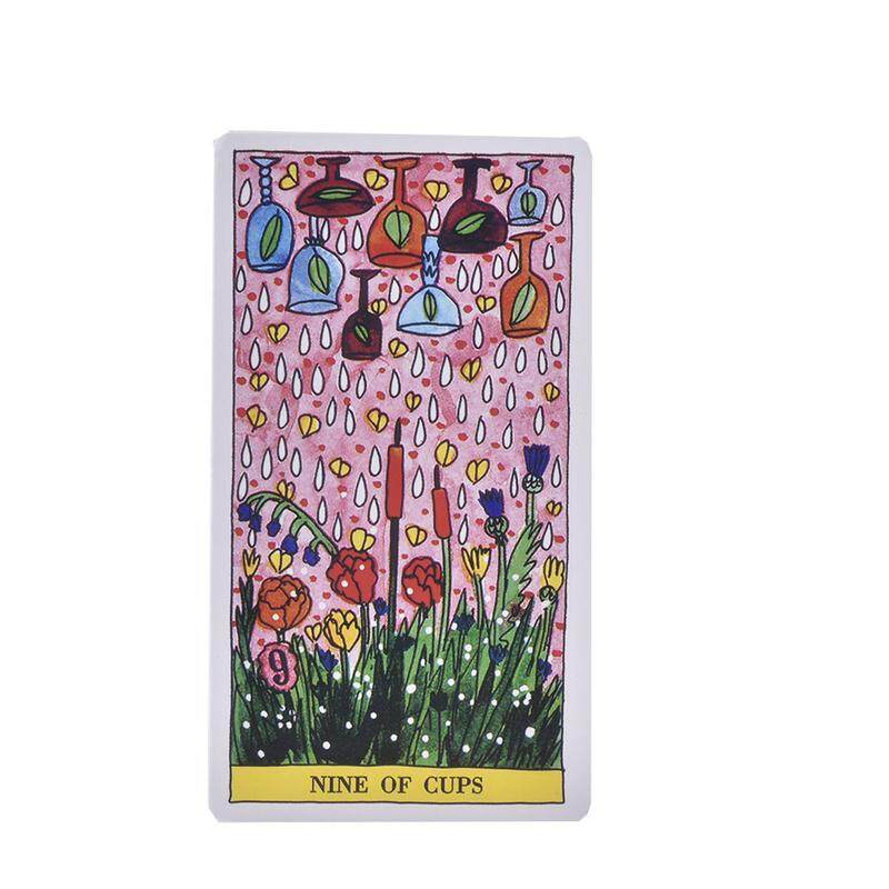 78 Tarot del Fuego Tarot cards Full English Version for Christmas party