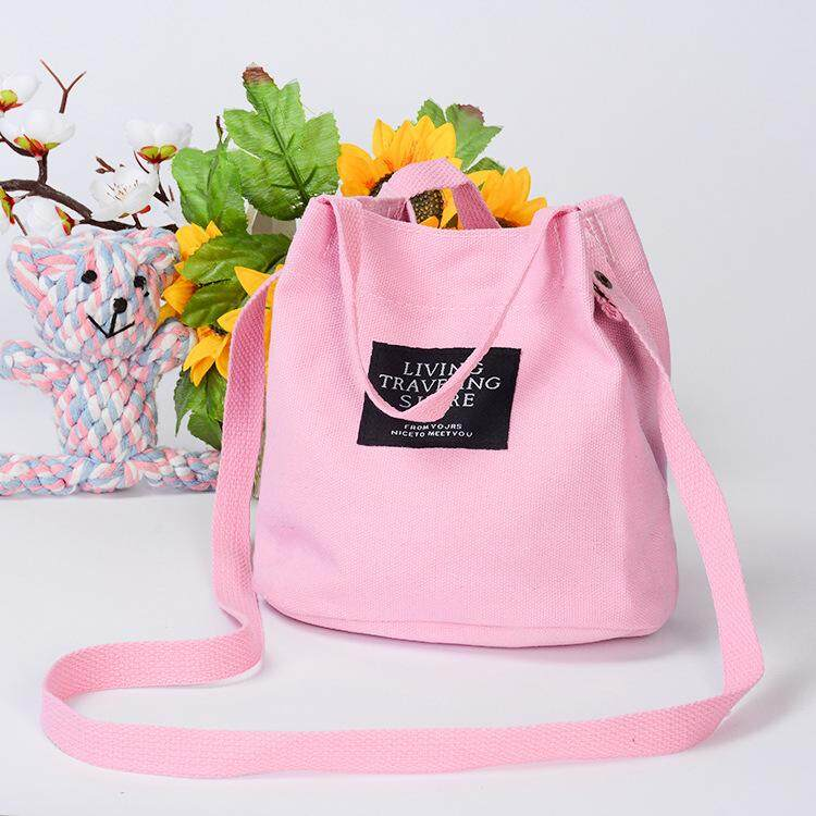 """... Body & Shoulder Bags. """"Ready Stock 14 Colors"""" Kstyle Korean Fashion Top Seller Premium Small Canvas Fashion Sling · """""""
