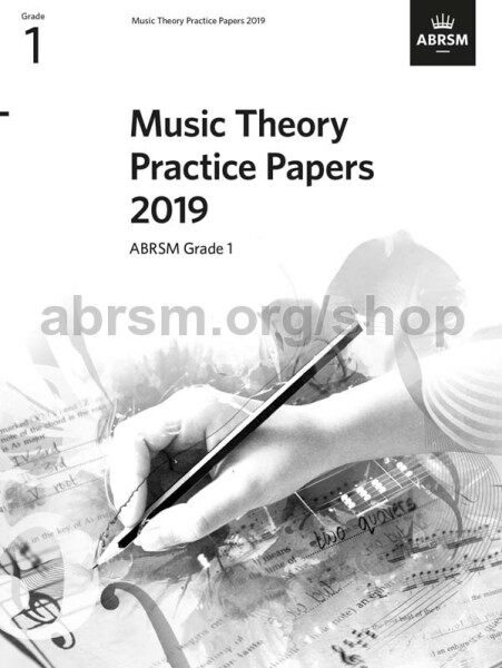 ABRSM Music Theory Practice Papers 2019 Grade 1 / Theory Paper / Theory Exam Paper / Theory Past Year Paper / Past Paper Malaysia