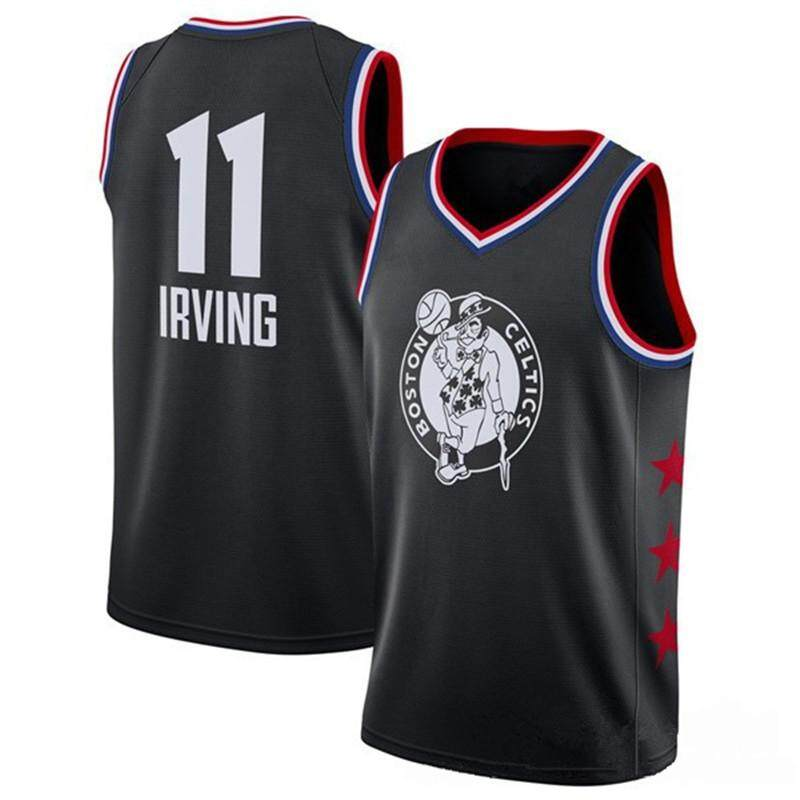 buy online a467e b56af AAA Grade (Embroidery Version) Boston Celtics IRVING No.11 Basketball  Training Jersey Men Women Basketball Jersey Basketball Sleeveless Causal ...