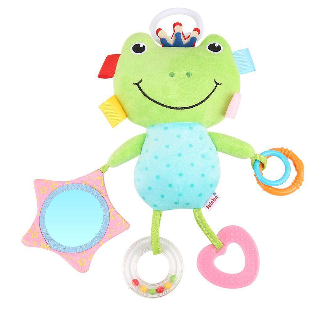 Infant Baby Crib Stroller Hanging Toys Plush Toy Soft Cute Animal Rattle Toys