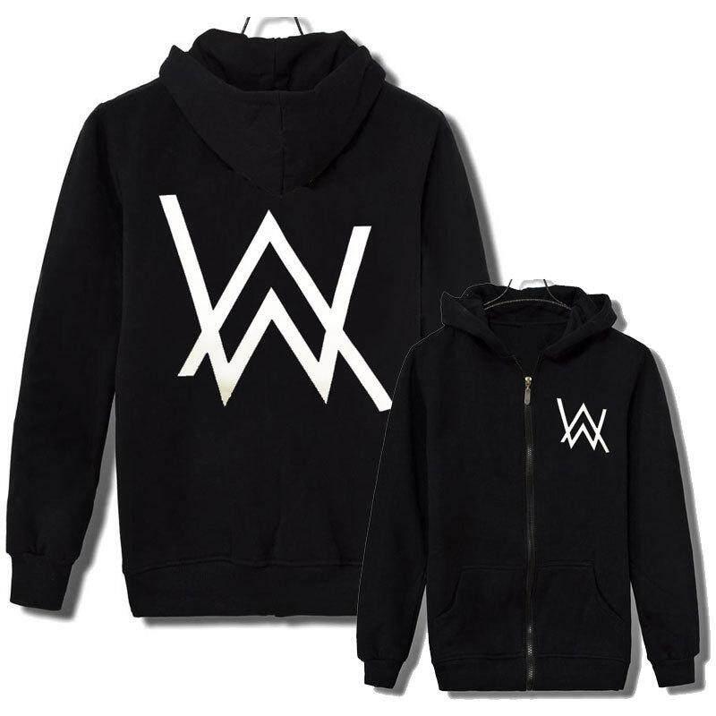 908ababa1c6e Alan Walker DJ Sweater Coat Jacket Faded Hoodies Zipper Jacket Men Outwear