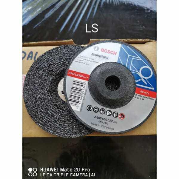 BOSCH 4 GRINDING DISC DICS 017 708 MATA GOSOK BESI