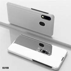 """UPaitou Ốp Lưng Tráng Gương dành cho Samsung Galaxy Samsung Galaxy A20 Mạ Da PU Giá Đỡ Gương Cấp Kiểu Bao Da dành cho Galaxy A20-6.4 """"inch"""