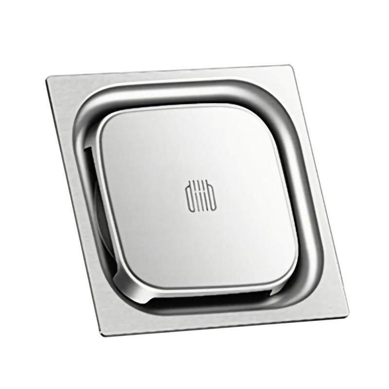 Diiib Tầng thoát nước Khử mùi Côn trùng Bằng chứng 304 Thép không gỉ Xả nước cho nhà bếp Ban công Máy giặt