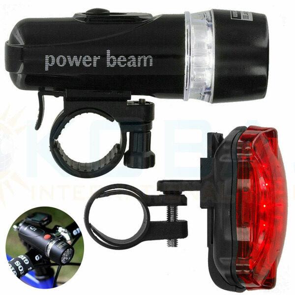 ISPLNV Đèn Pin Sáng Cảnh Báo An Toàn Chống Nước Trước Và Sau Khi Đạp Xe Ban Đêm Bộ Đèn Xe Đạp Đèn Flash, Sử Dụng Xe Đạp Leo Núi