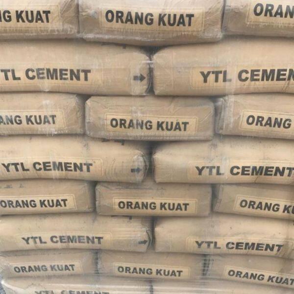 ytl cement 7kg packing