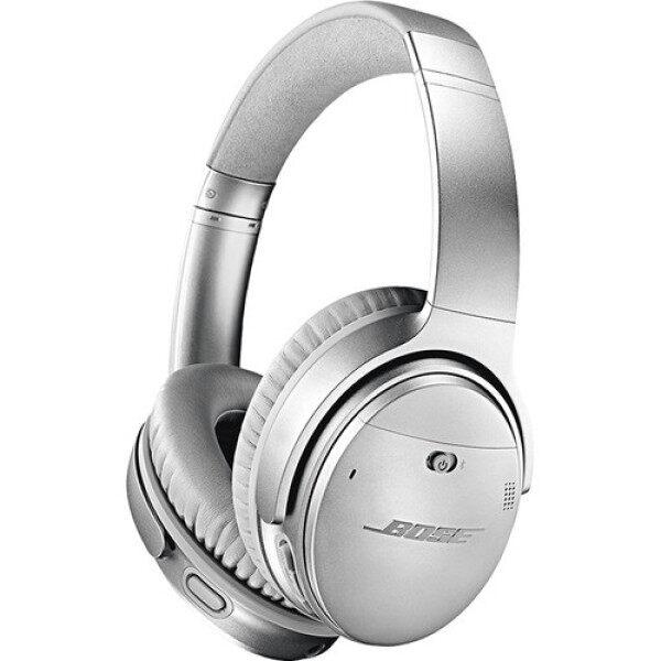 Bose QuietComfort 35 Series II Wireless Noise-Canceling Headphones (Silver) Singapore