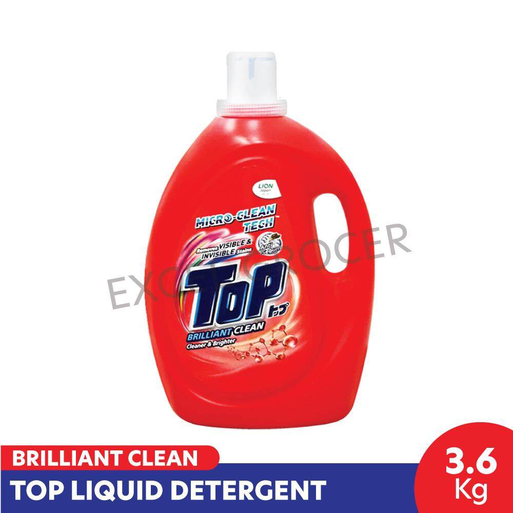 Top Brilliant Clean Liquid (Red) 3.6kg