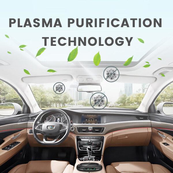Solar Car Purifier Remove Formaldehyde Smog Pm2.5 Negative Ion Air Purifier