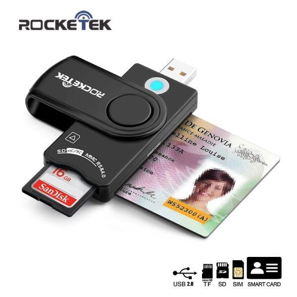 For Windows Os Usb Card Reader,Smart Card Reader For Sd Micro Sd,Sim Memory Card Smart Card For Cac/National Id/Atm Card Readers
