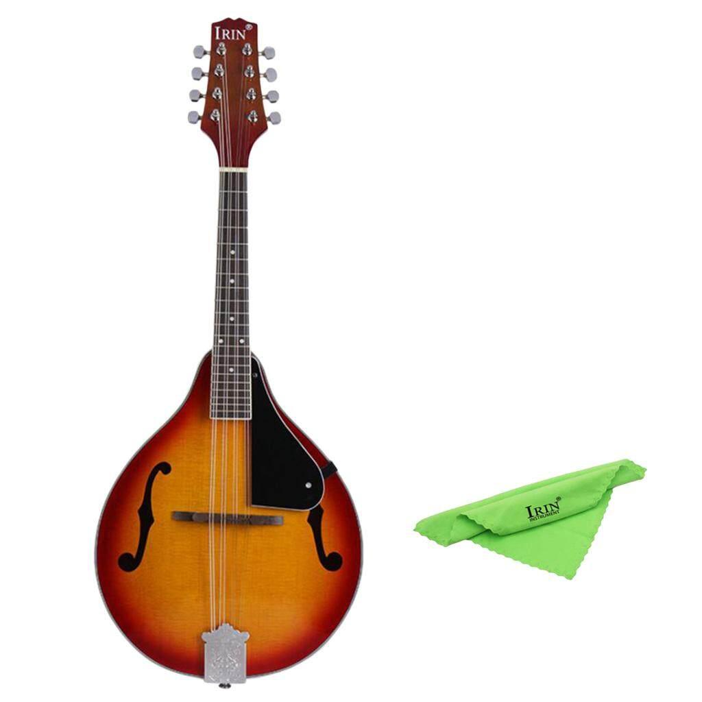 Baoblade MỘT-Phong Cách Acoustic Đàn Mandolin với Đàn Mandolin Bộ Dây Cáp dành cho Người Mới Bắt Đầu Tặng Sunburst