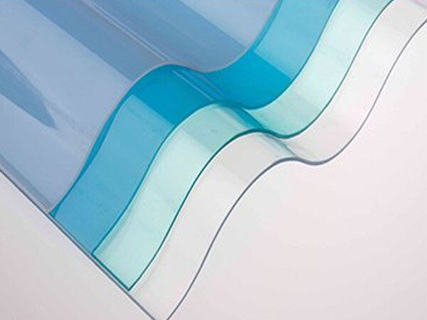 LaserCool Premium Corrugated Vinyl Roofing Sheet (ROMA) 20FT COLOUR CLEAR Vinyl Roofing Sheet PVC Roofing Sheet