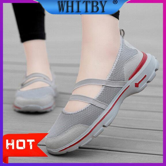 Giày Thể Thao Whitby Cho Nữ, Giày Lười Thời Trang Đế Bằng Thoải Mái Thoáng Khí giá rẻ