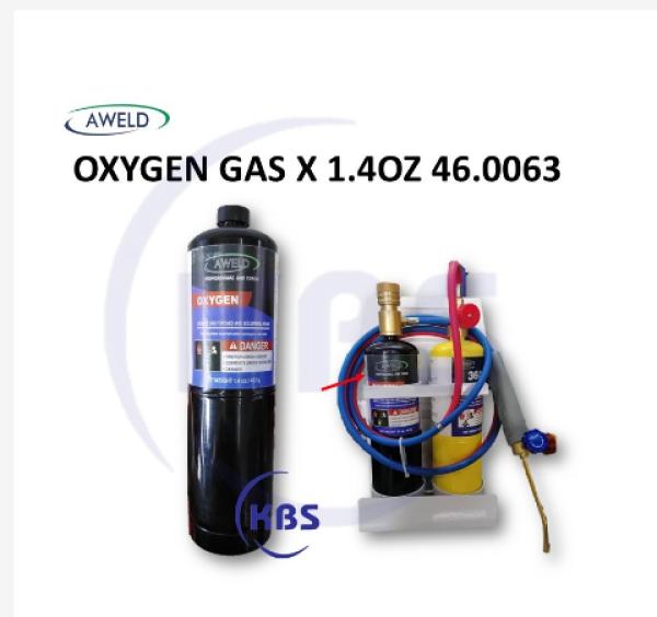 AWELD OXYGEN GAS 1.4OZ