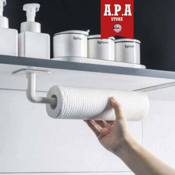 APA (1 Piece) Wall Mount Hook Non-Punch Strong Adhesive