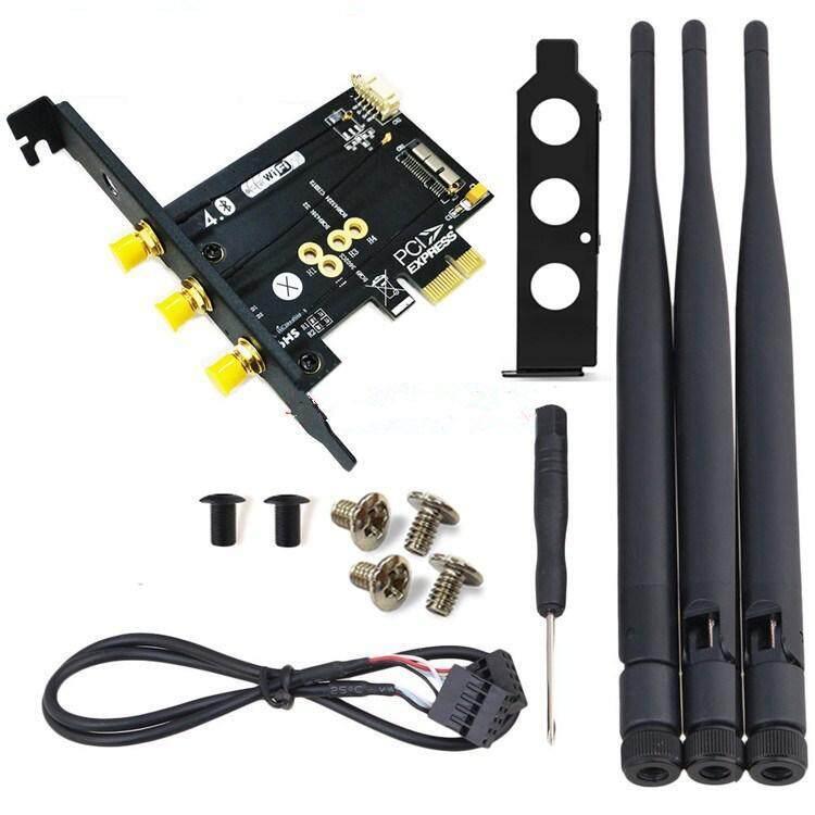 Giá BCM943602CS Wifi + Bluetooth 4.0 Thẻ PCI-E X1 Adapter Cho Máy Tính/Hackintoshnot Chứa Card Wifi BCM943602CS!