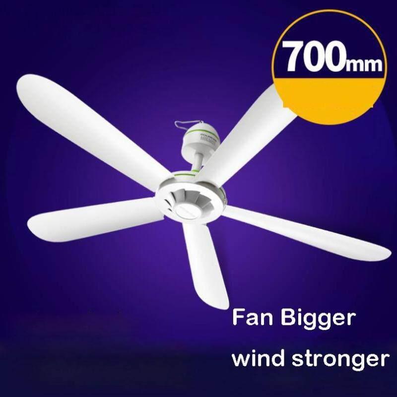 [YJ] Quạt Trần Mini 5 Cánh Công Suất 20W, AC220-240V Quạt Treo 50HZ Diamater 70Cm Fan Quạt Mini 27.5 Inch Muỗi Fan Net