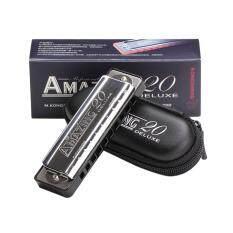 Nóng Người Bán 10 Lỗ Armonica Nhựa Nhạc Cụ Mới Bắt Đầu Kèn Harmonica Trẻ Em Người Lớn