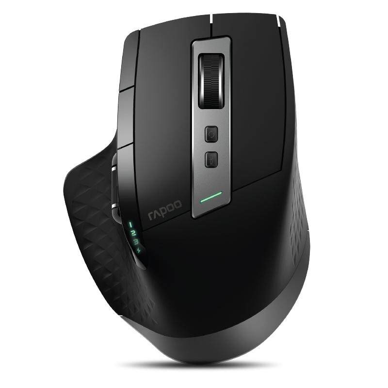 61f7b1f3b68 Rapoo MT750S Rechargeable Multi-mode Wireless Mouse Bluetooth 3.0/4.0  2.4GHz Switch Among