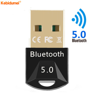 Kebidumei Bộ Chuyển Đổi USB Bluetooth 5.0 Không Dây, Realtek 8761 Bộ Thu Phát Bluetooth Dongle Dành Cho Máy Tính PC thumbnail