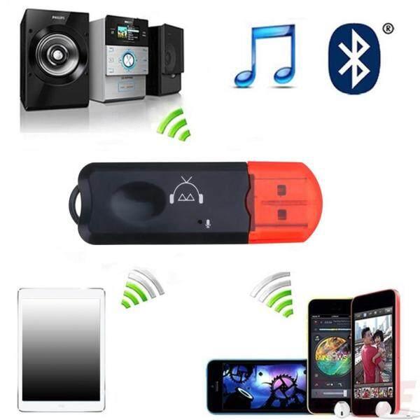 Bộ Chuyển Đổi Thu Âm Thanh Stereo AUX 3.5Mm Bluetooth Không Dây Di Động 2 Trong Một, Có Mic USB Dongle Cho Loa Điện Thoại Di Động