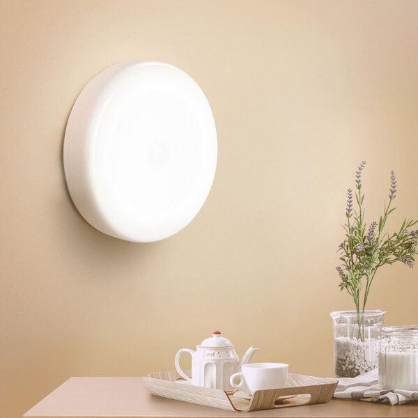 Bảng giá 6 Đèn LED Tròn Tiện Dụng Đèn Cảm Biến Chuyển Động Thông Minh Đèn Tường Cho Nhà Phòng Ngủ