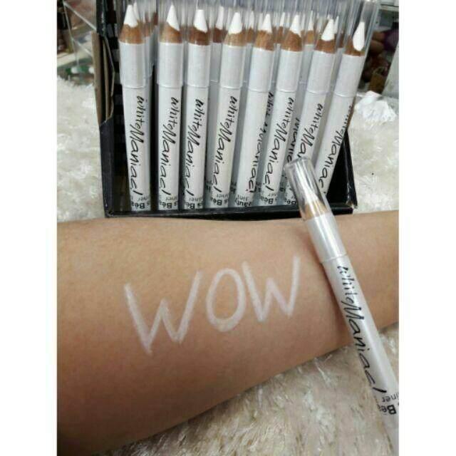 【FREE GIFT】Kiss Beauty White Eyeliner Maniac
