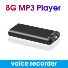 Máy Ghi Âm Kỹ Thuật Số Được Kích Hoạt, Máy Nghe Nhạc MP3 Tích Hợp Bộ Nhớ 8GB, Máy Ghi Âm Giọng Nói