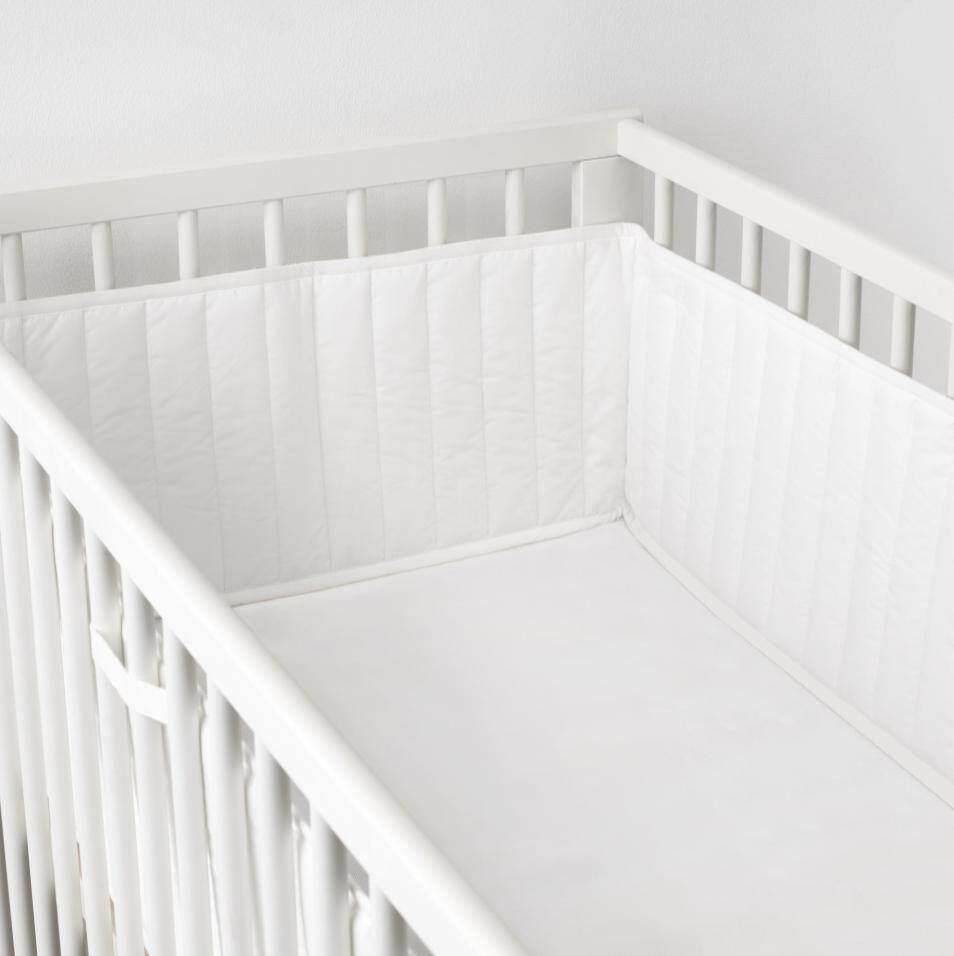 1kea Len Baby Cribs Soft Bumper Pad (60x120 Cm) By Ikea Runner My.