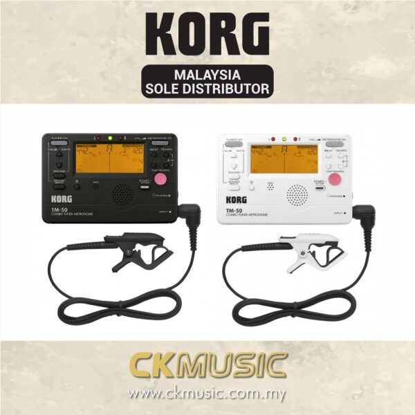 Korg TM-50C - Combo Tuner Metronome + Contact Microphone (TM50C) Malaysia